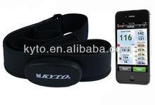 bodybuilding Tracker Heart Rate Bluetooth 4.0 Chest Belt with Runtastic BlueFire EKG ndomondo APP
