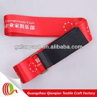 Adjustable custom elastic velcro strap luggage strap