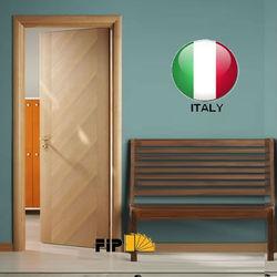 Flush door wooden door - italian style doors interiors