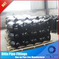 la reducción de codo de acero galvanizado roscado accesorios de tubería