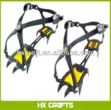 Brand New Crampons 10Points Ice Snow Cleats Peaks Spikes Fishing Hiking Working