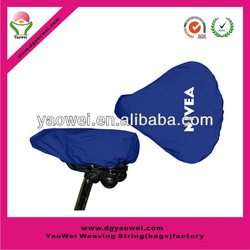 waterproof CMYK bike cover/PVC bike seat cover/saddle cover