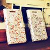 Blossom_Happymori Design Flip Phone Cover Case for Apple iPhone 6 (Made in Korea)
