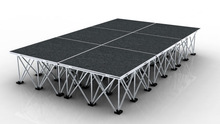 RK on sale aluminum portable stage for outdoor performance
