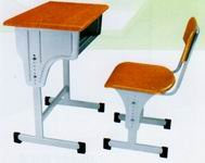 hot sale school furniture study table and chair for student