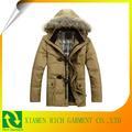 novos homens casacos de inverno com capuz