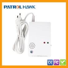 Smart Wireless/Wired CO Alarm With Gas Detector for LPG/Coal Gas