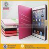 Top Premium leather case for ipad mini slim,pu case for iPad mini wallet cover cases