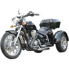 250cc Trike Chopper Style 3 Wheels Road Warrior Gas Motor