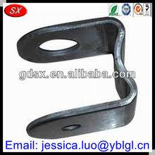 Dongguan factory price precision black oxide/coated steel metal bracket u shape,type u bracket hardware,angle brackets u bracket