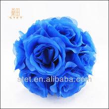 Royal Blue Artificial Hanging Flower Ball for Wedding Decor