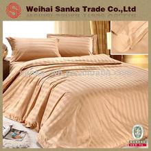 100% del algodón del hotel ropa de cama acolchado colcha de retazos