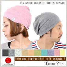 Fashion sports tennis apparel wear organic cotton beanie