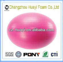 eco freindly anti burst yoga ball