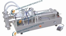 Semi-automatic cushion filling machine