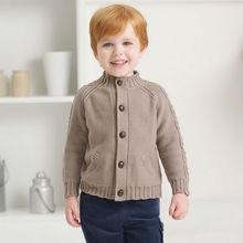 DB473 dave bella autumn winter toddlers sweater infant clothes children cardigan kids children sweater for boy
