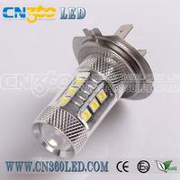 H7 led car fog lamps new 2013 Hot sales best 80W led lights 12V 24V car fog lights bulb auto lamps