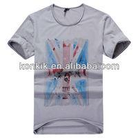 Super Plus Size Clothing Soft Cotton Custom Design Wholesale Hip Hop Clothing Most Popular T Shirt