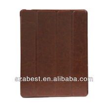 tablet pc case,PU leather hard cover slip case for ipad2/3/4