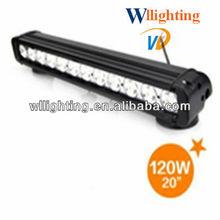 120W aurora off road led light bar/atv 4x4 led bar light CREE