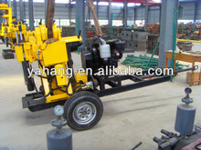 drilling rig hand tool YH-130Y on trailers for sale , 30m,80m,100m,120m,150m depth