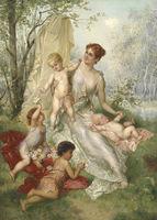 western people oil painting classical artificial sexy women nude kids micro bikini