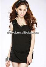Women dresses 2014 new design fashion sexy one-shoulder dress
