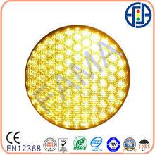 300mm Cobweb Lens Yellow LED Signal lamp