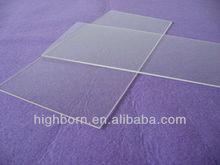 Quartz Glass Window two sides fire polish