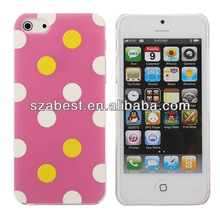 3D Polka Dots Hard Case Skin for Iphone 5g/5s