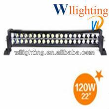 2012 new 120w high brighteness led work light bar, driving light for trucks led spotlight wl8021-120