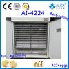2013NEWST full automatic egg incubator coal price for 2000 eggs