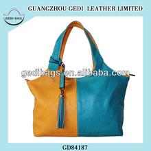 Christmas Wholesale Handbag Chic Women Shoulder Tote Mixed Color Handbag Hobo Bag