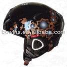 kids brown motorbikes applique helmet/ football helmet