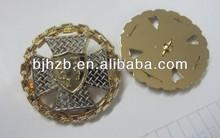 good quality metal pin badge