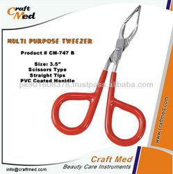 Scissors Type Plucking Tweezers