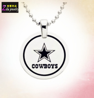 (SN-0013) Wholesale High quality dallas cowboys dog tags stainless steel