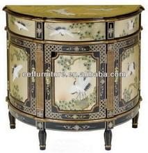 antique reproduction furniture lacquer cabinet