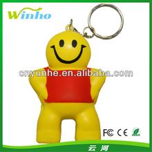 Little Man Key Ring Stress Shapes