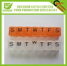 Promotional Logo Printed 7 days Pill Case