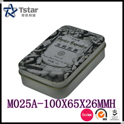 Pill/capsule small metal box