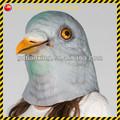 Las palomas/disfraces/disimula/de halloween/aves/aviario/palomas/de látex/animales/curiosas máscara