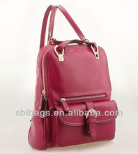 hot sale ! new style cute bags for high school girls& pu leather bag& western style ladies bags