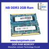 Internal parts of computer desktop ram ddr3 2gb