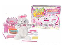 Manual Knitting Wool Cross Stitch Little Cat for Beginner STP-226124