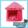 Mushroom Shaped Lovely Pet House Cozy Craft Luxury Pet Dog Beds