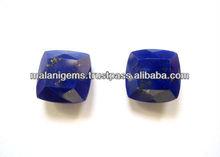 Natural Lapis Lazuli Square Cut Loose Gemstone Malani Gems & Jewels
