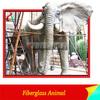 High Emulational Fiberglass Elephant Sculpture