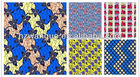 100% real wax cotton fabric fashion design wear fabric wholesale clothing dubai
