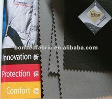 100D Polyester spandex fabric +TPU+polar fleece bonded fabric